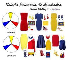 """""""TRIADA PRIMARIA DE DISEÑADOR"""" by gildafuentesb on Polyvore"""