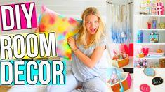 DIY Room Decor! 5 DIY Room Decoration & Organization Ideas for Teenagers...