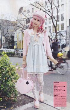 Legs, Nails, and Geek Stuff Japanese Street Fashion, Tokyo Fashion, Harajuku Fashion, Kawaii Fashion, Lolita Fashion, Pastel Fashion, Pop Fashion, Cute Fashion, Fashion Looks