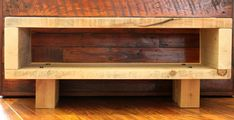Reclaimed Wooden TV Stand Unit Cabinet ECO by Reclaimedanddesign