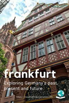 Frankfurt, Germany, is well worth a visit even if you only have a short time available. Check out my top tips for spending a day in Frankfurt! | Frankfurt am Main | Frankfurt Germany | Visit Frankfurt | Spending a day in Frankfurt | A day in Frankfurt | What to do in Frankfurt in one day | Sightseeing Frankfurt | Frankfurt old city |#frankfurt #frankfurtammain #frankfurtgermany