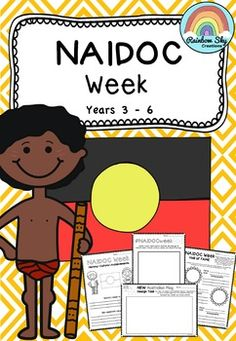 A collection of literacy activities for Year 3 - 6 for NAIDOC WEEK. It is about celebrating the history, culture and achievements of Aboriginal and Torres Strait Islander people.