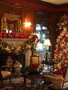 The Tate House at Christmas!