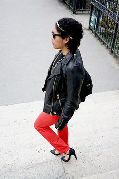 street look berenice with Miss Zaza    the berenice denim jean