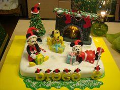 Bolo Mickey Natal