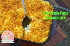 Chicken Rice Casserole | Stay at Home Mum