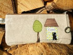 Come home - cute pouch or pencil case