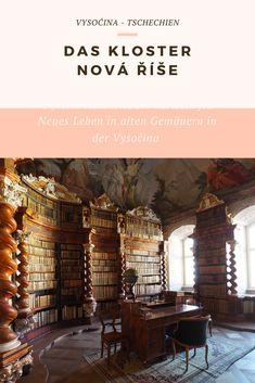 Zahlreiche Alte Gemäuer sind in Zeiten des Kommunismus in Tschechien verfallen. Danach wurde ihnen neues Leben eingehaucht, ein Prozess, der bis heute andauert. Dazu gehört auch das Kloster Nová Říše.