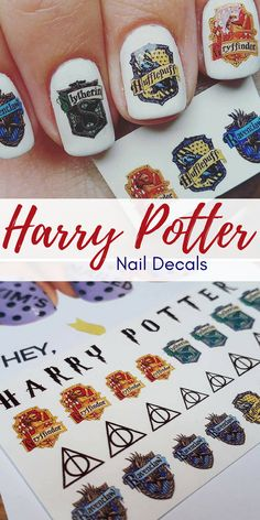 #harrypotternails #nailart