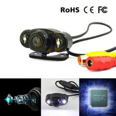 Car 12V HD 170º Rear View Backup Reversing Camera Night Vision Waterproof CCD | eBay Motors, Parts & Accessories, Car & Truck Parts | eBay!
