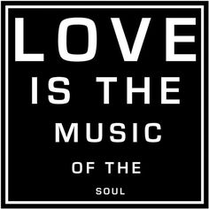 "Love Is the Music (B) 12"" Square Word Wall Art (1.435 RUB) found on Polyvore"