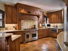 mission style kitchen cabinets mission style kitchen done in madura gold granite with half bullnose cabinets can alternate flushing with ceilu2026 - Cabinet Stain