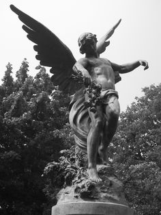 Fiend Angelical | Angels on Pinterest | Angel Statues, Archangel Michael and Male Angels