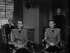 The Dark Mirror (1946) with Olivia de Havilland playing twins