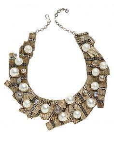 Oscar de la Renta #statement #necklace