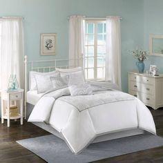 Harbor House™ Cranston 6-Piece Comforter Set in White