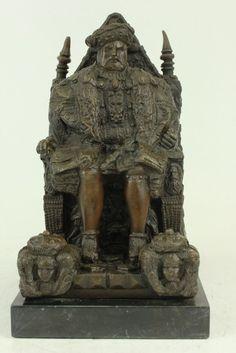 Estátua De Bronze Do Rei Henry Viii