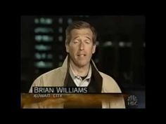Brian Williams 2003 Report On Helicopter Incident - YouTube