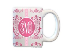 Baby Pink/Hot Pink Golden Age Coffee Mug from Paper Concierge