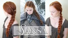 How to Do Sansa's Braids in Game of Thrones Season 6