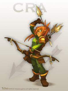 Dofus Character Cra by ~tchokun on deviantART