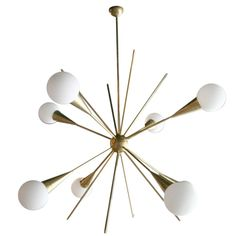 1stdibs - 60's Italian Sputnik Chandelier explore items from 1,700  global dealers at 1stdibs.com