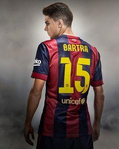 Camiseta Bartra del Barcelona Primera 2014-2015 baratas