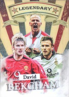 David Beckham of Man Utd & England.
