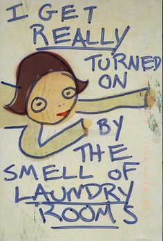 The smell of the laundry room