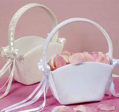Tote Flowergirl Basket