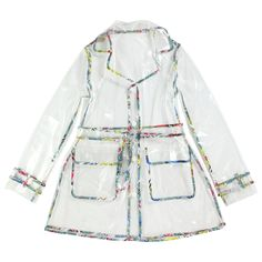 John Galliano Kids Transparent raincoat Multicolor | Melijoe.com