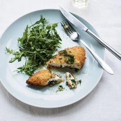 Quick Chicken Kiev // More Fabulous Chicken Recipes: http://www.foodandwine.com/slideshows/quick-chicken #foodandwine