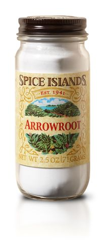 Unlike spices, arrowroot isn't prized for its taste or aroma. It's prized for its lack of taste or aroma. Primarily used as a thickener, arrowroot blends seamlessly into any dish, from sauces to glazes. And is often considered a better thickener than cornstarch or flour. It's also glutten-free. - See more at: http://www.spiceislands.com/Spices_and_Herbs/Arrowroot#sthash.KVCtzJKB.dpuf