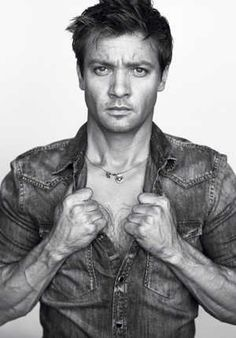 Yes, there are a few cute white boys...Jeremy Renner