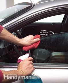 Interior Car Cleaning Article: How to detail your car like a pro.