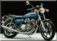 1978 Kawasaki KZ650b - Mine had a cafe fairing and highway pegs. Yes I know it's not a car  .........
