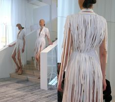 Maison Martin Margiela – The Artisanal Collection shoe lace dress