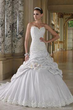 David Tutera for Mon Cheri Wedding Dresses  Spring 2012 Bridal Collection