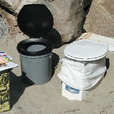 emergency sanitation....We have used these during power outages and for camping....hey, what can I say(?) I had 4 girls....a little home away from home;D