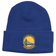 NBA adidas Golden State Warriors Cuffed Knit Beanie - Royal Blue  Embroidered team logo Manufactured by Adidas Made of acrylic Official team  colors ... 0471c876b50b