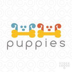 Puppies - #logo #sale #animal #dog