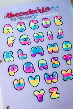 Whether you want to change up your header / title lettering or need a new bullet journal font, these awesome alphabet lettering ideas and spreads will give you the inspiration you need! Alphabet Graffiti, Hand Lettering Alphabet, Graffiti Lettering, Creative Lettering, Alphabet Fonts, Lettering Ideas, Alphabet Letters, Cool Lettering, Bullet Journal Writing