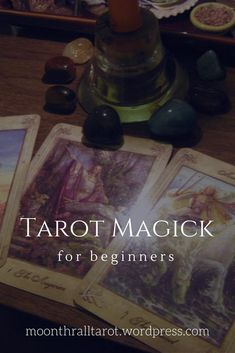 An easy way to use your tarot cards for magick!