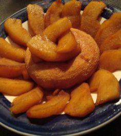 Hot Baked Cinnamon Apples