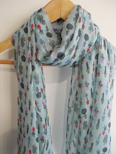 Plant pot scarf ,love this design x