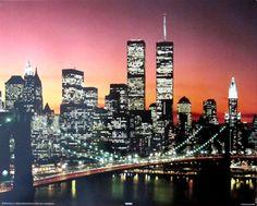 New York Brooklyn Bridge   Cityscape   Hardboards   Wall Decor   Plaquemount   Blockmount   Art   Pictures Frames and More   Winnipeg   MB   Canada