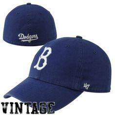 '47 Brand Brooklyn Dodgers Cooperstown Franchise Flex Hat - Royal Blue