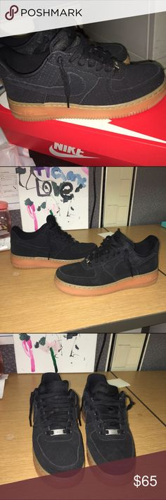 474965155233 Air Force one limited addition suede Low top