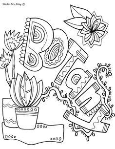Subject Cover Pages Coloring Pages - Classroom Doodles Dance Coloring Pages, Coloring Pages To Print, Binder Covers, Notebook Covers, School Book Covers, Science Doodles, Classroom Organisation, School Subjects, New School Year