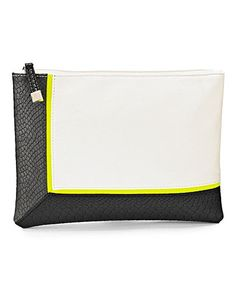 Stay on trend with this monochrome envelope clutch bag. #Oxendales #fashion #Bag